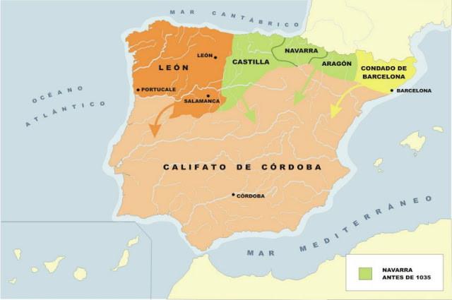 Reinos Cristianos Siglo X-XI / Califato de Córdoba. Siglo X- XI