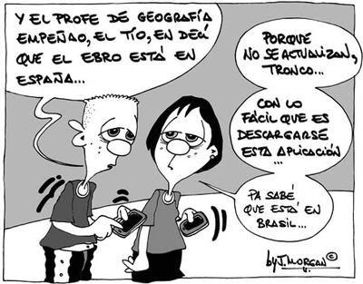 """El """"pesao"""" del profesor de Geografía..."""