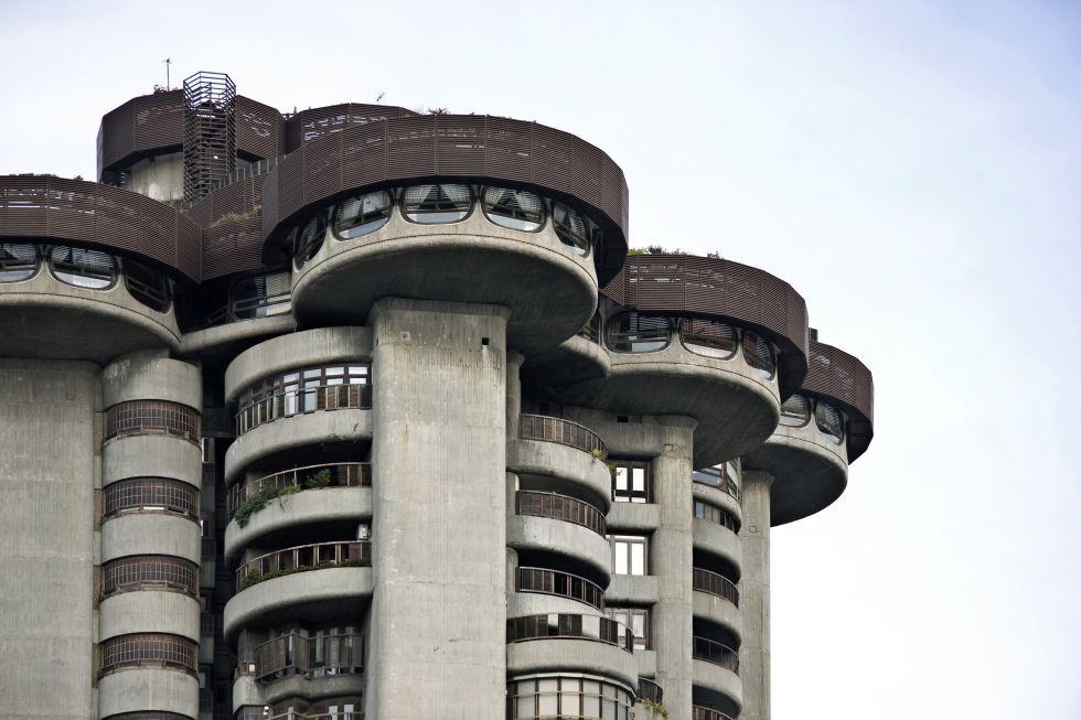 Edificio Torres Blancas de Sáenz de Oiza.