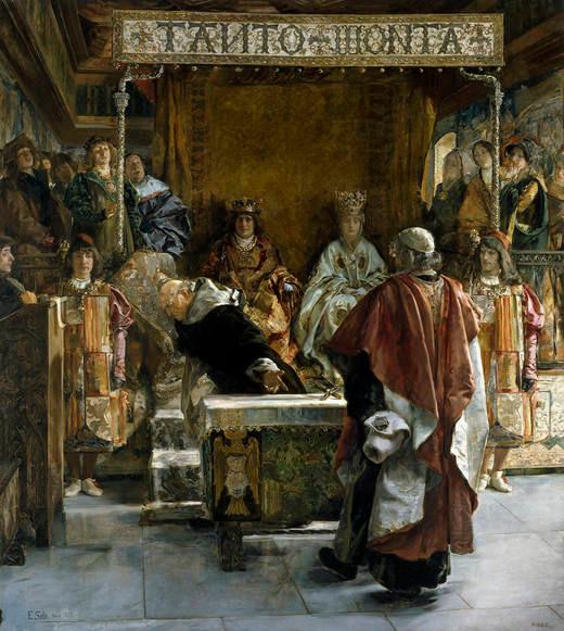 Expulsión de los judíos en 1492.
