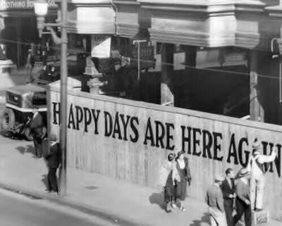 """The Happy 20´s"" leit motiv de la posguerra en EE.UU."