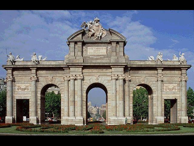 PUERTA DE ALCALÁ. Madrid. Sabatini.
