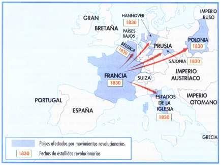 Mapa de las revoluciones