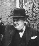 """Winston Churchill ante la batalla de Inglaterra combatiremos con """"Sangre, sudor y lágrimas"""""""