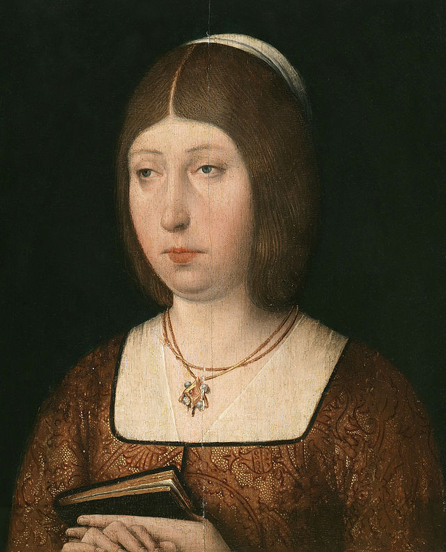 Isabel la Católica (1451,Madrigal de las Altas Torres-1504, Medina del Campo).
