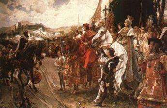 Toma de Granada, 2 de enero de 1492.