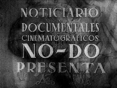 Noticiario Documental creado en 1943.