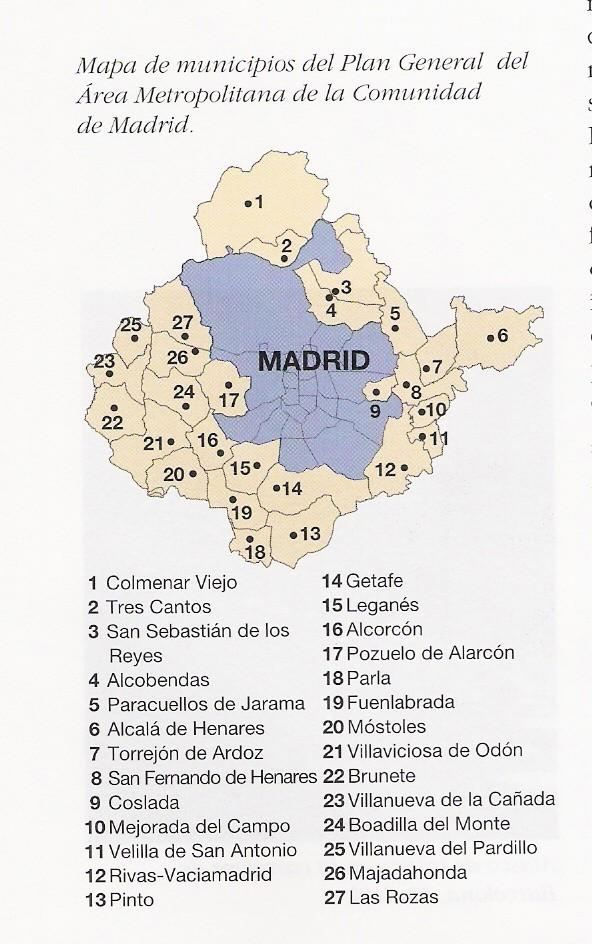 Área metropolitana de Madrid