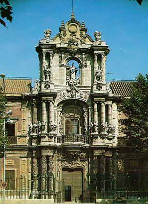 PALACIO DE SAN TELMO. Sevilla. Figueroa.
