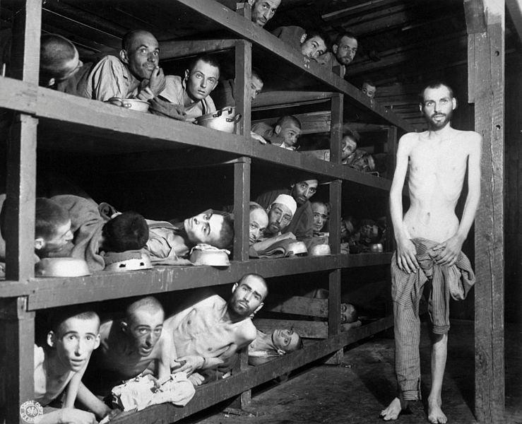 Buchenwald, el día de la liberación.