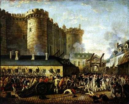 14 de Julio Toma de la Bastilla.