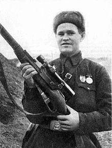 Zaitsev, héroe francotirador de Stalingrado 1942