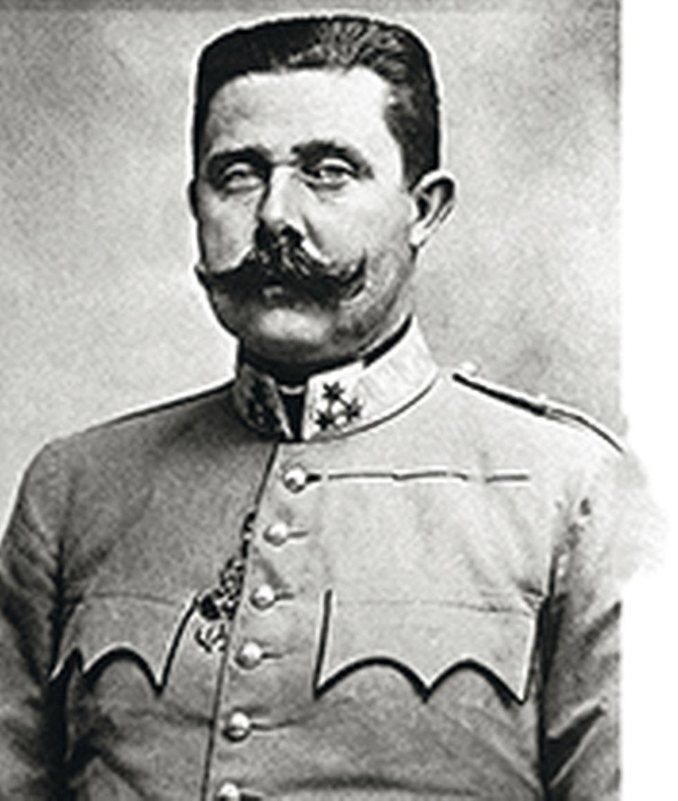 El archiduque Franz Ferdinand.