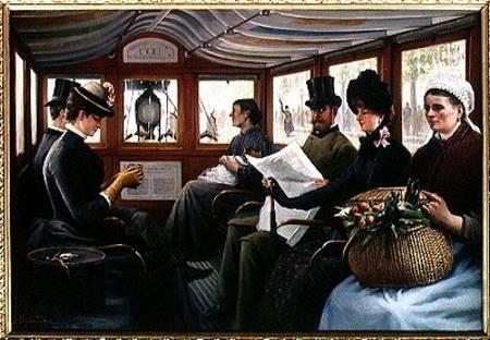 El omnibús de Delondre 1880.