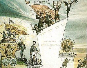 De Alcolea a Sagunto, las etapas del Sexenio Revolucionario.