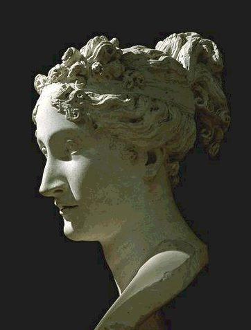 Paulina Bonaparte, detalle.