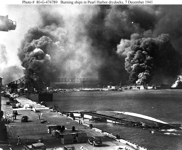 Bombardeo de Pearl Harbor (1941)