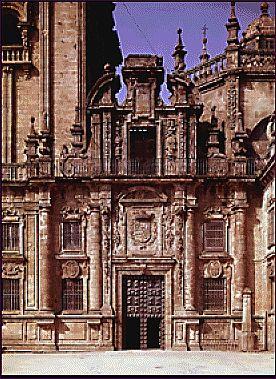 PÓRTICO REAL DE LA QUINTANA. Santiago de Compostela.