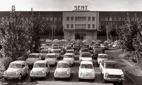 """Factoría de Seat. El coche de la """"clase media"""" española..."""