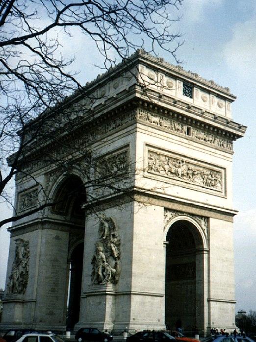 Arco de Triunfo París.