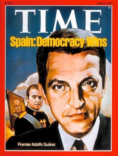 Suárez, desde el Movimiento a la Democracia.