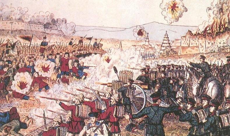 La guerra de los boxers en China (1899-1901).