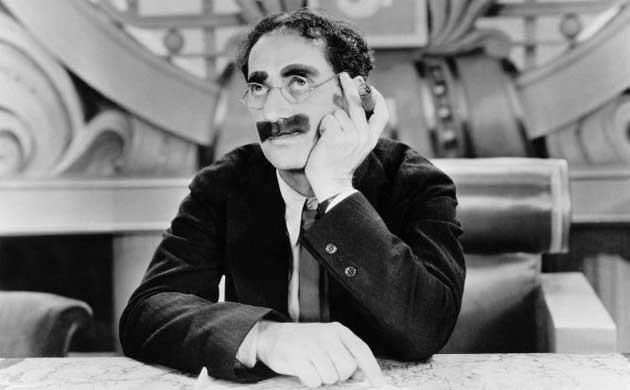Groucho Marx, inversor especulativo arruinado por el crash.