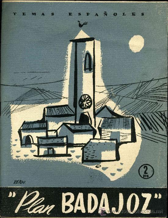 Plan Badajoz de 1952.