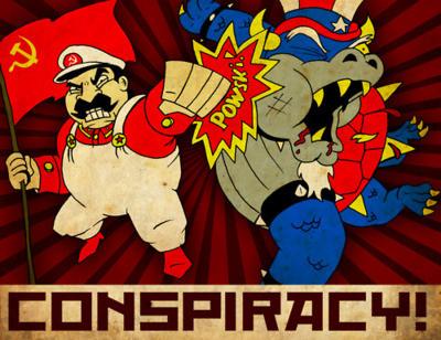 """La """"teoría de la conspiración"""" en la Guerra Fría."""