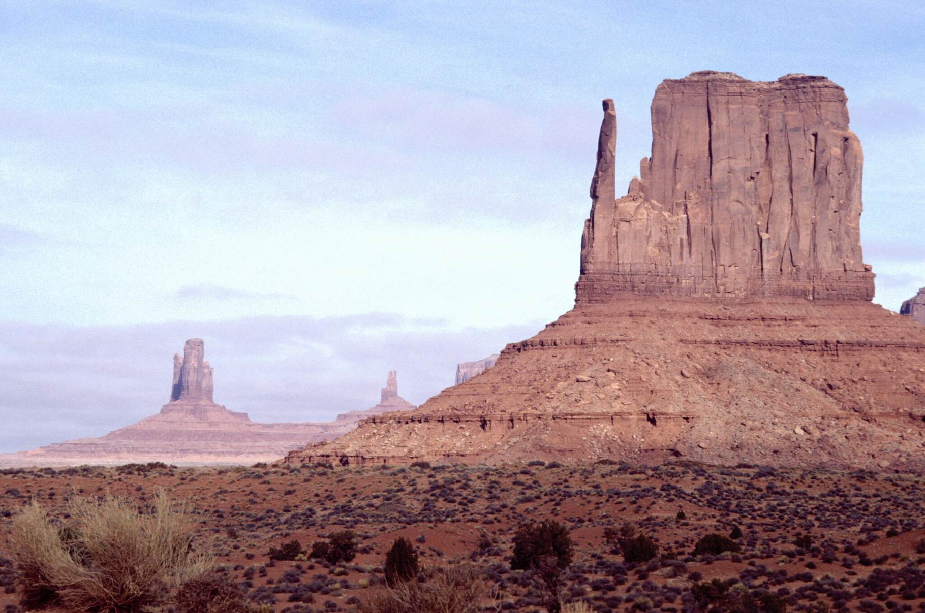 Monument Valley de camino a California.
