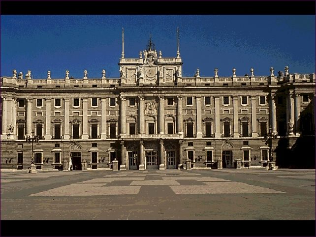 PALACIO REAL DE MADRID. Juvara y Sachetti.