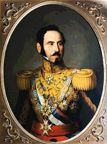 A. Esquivel. Retrato de Narváez