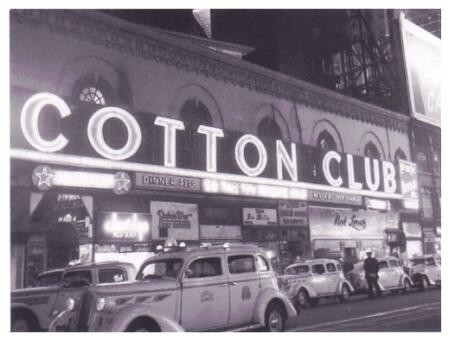 El famoso club de jazz -negro- ejemplo de la vida nocturna americana.