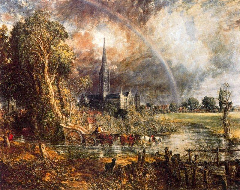John Constable. La catedral de Salisbury.