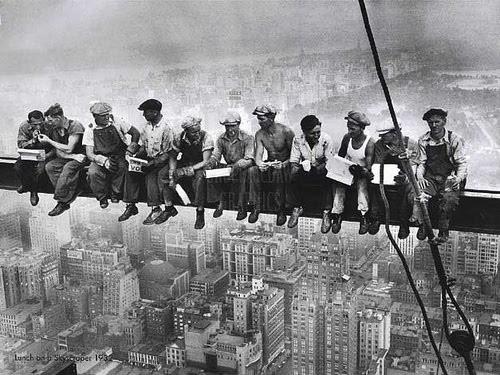 Los rascacielos, símbolo del crecimiento capitalista americano de esta década.