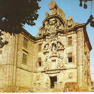 IGLESIA DE SANTA CLARA. Santiago de Compostela. Simón Rodríguez.