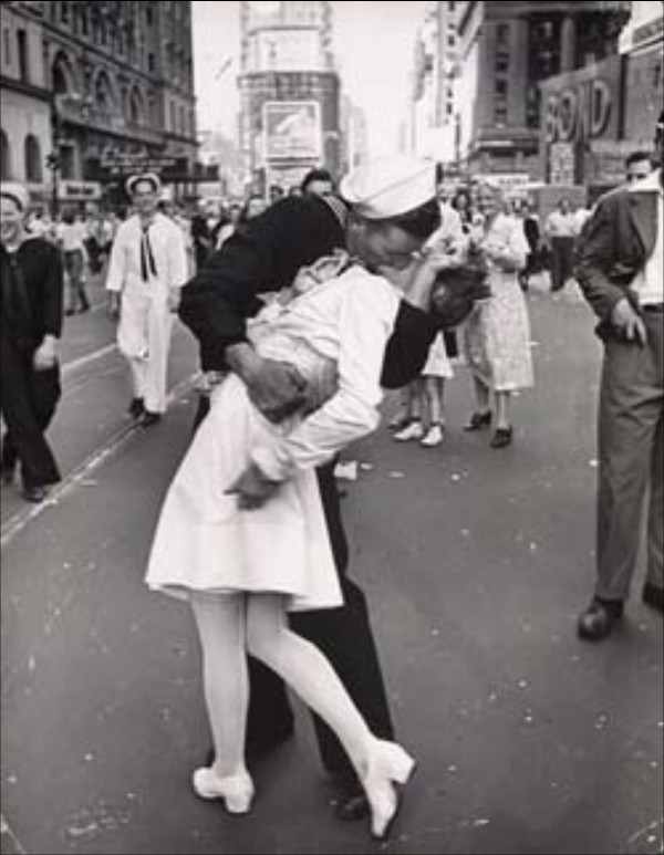 Beso en Times Square 1945