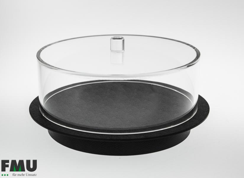 Kuchenhaube rund, Höhe 80mm, Artikel 720 (ohne Tablett)