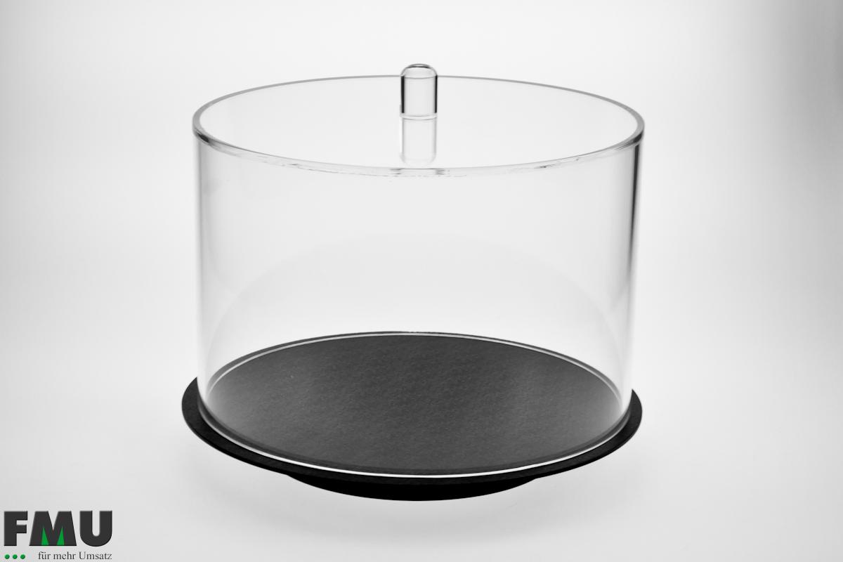 Kuchenhaube rund, Höhe 200mm, Artikel 721 (ohne Tablett)