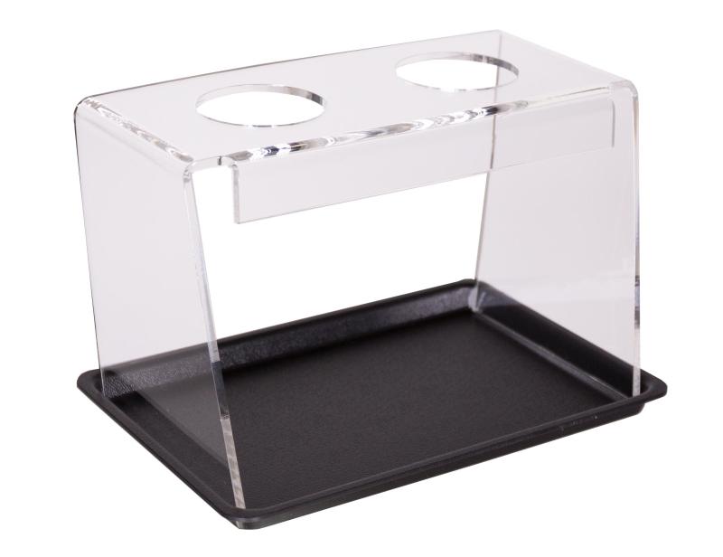 Spitztütenhalter mit 2 Bohrungen und Tablett 9402521