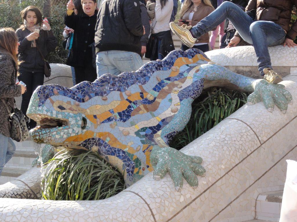 Le dragon du parc Güell