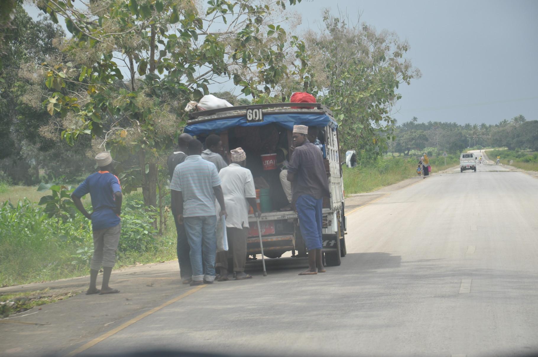 dala-dala, bus local