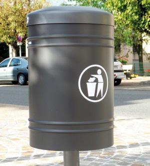 Poubelle - mobilier urbain Imagin'Aires