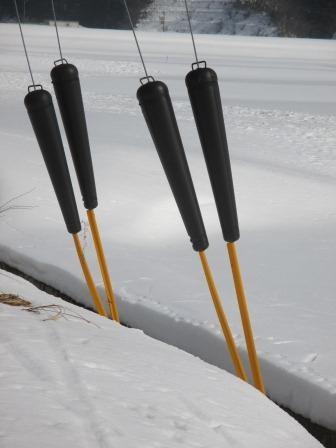 冬になると電柱を支える線がチョコレートポッキ~にみえてしょうがありません❤