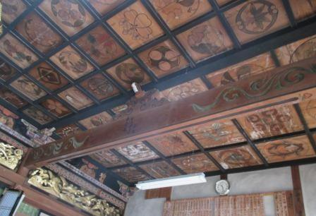頓原 『乗空寺』の天井