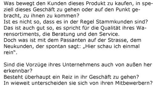 aus: Norbert Grüger: Schaufenster selbst dekorieren, S. 3