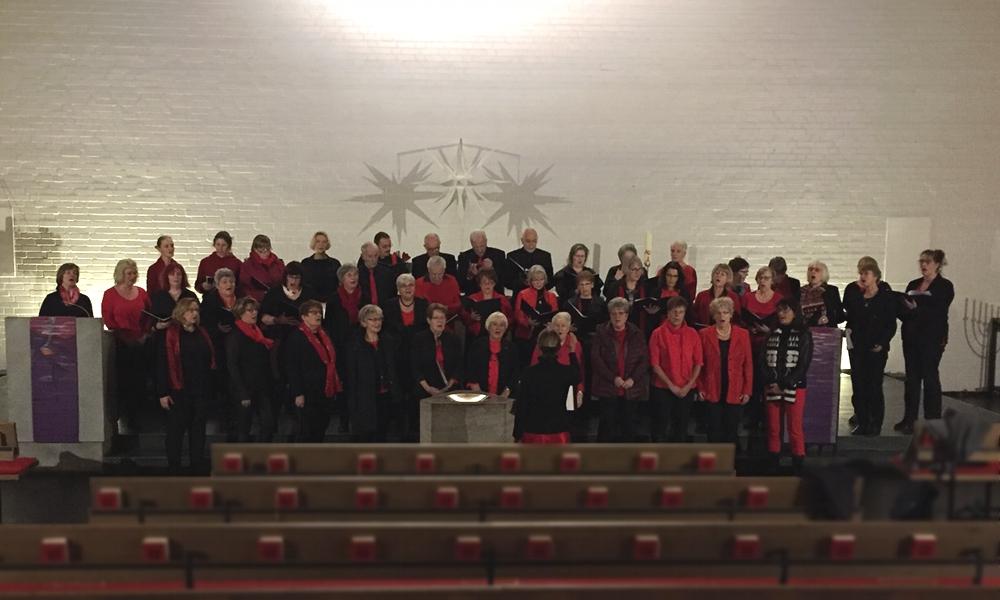 Projektchor Cantate-Kirche Duvenstedt 08.12.2019