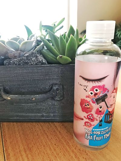 blog de belleza para mujeres mayores de 40, cuarenta y algo, reseña tonico de frutas de elizavecca, reseña hell pore clean up aha fruit toner elizavecca, productos de elizavecca, cosmetica coreana españa, blogger belleza españa