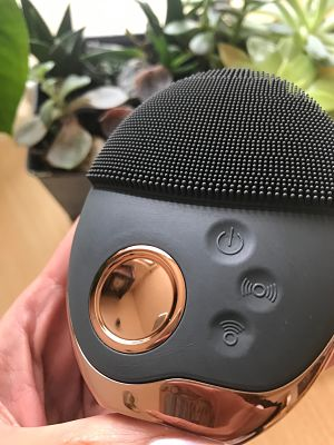 cepillo limpiador para el rostro, imitacion foreo, reseña limpiador rostro, aparatos para limpiar el rostro, eliminar puntos negros, haul aliexpress, aparatos faciales, limpiador rostro, limpiador electrico rostro