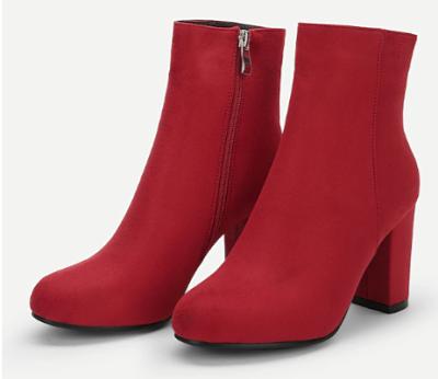 botines rojos a la moda, botines rojos comodos, comprar boti,e rojos, comprar botines on line, botines tendencia 2019, botines originales, botines a la moda, blog de moda, outfits botines rojos